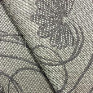 linen curtain fabric backside