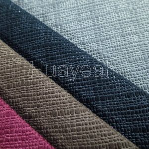 microfiber upholstery fabric close look