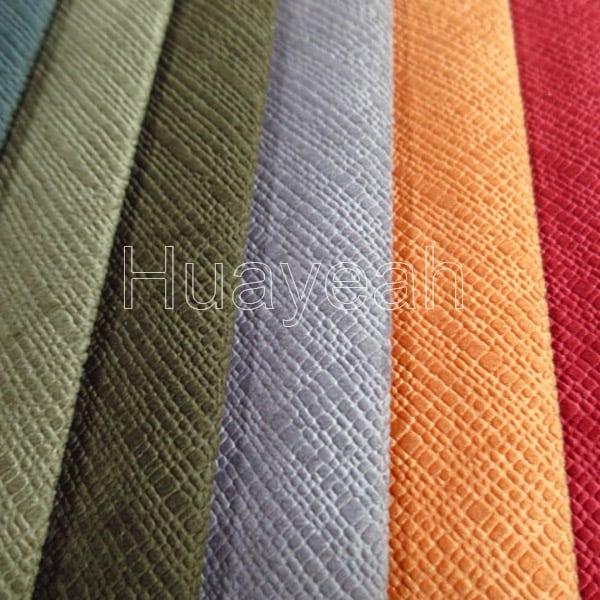 Embossed Velvet Microfiber Upholstery Fabric