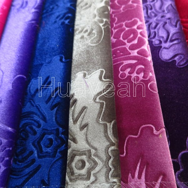 Embossed luxury velvet upholstery fabric for sale for Fabric material for sale