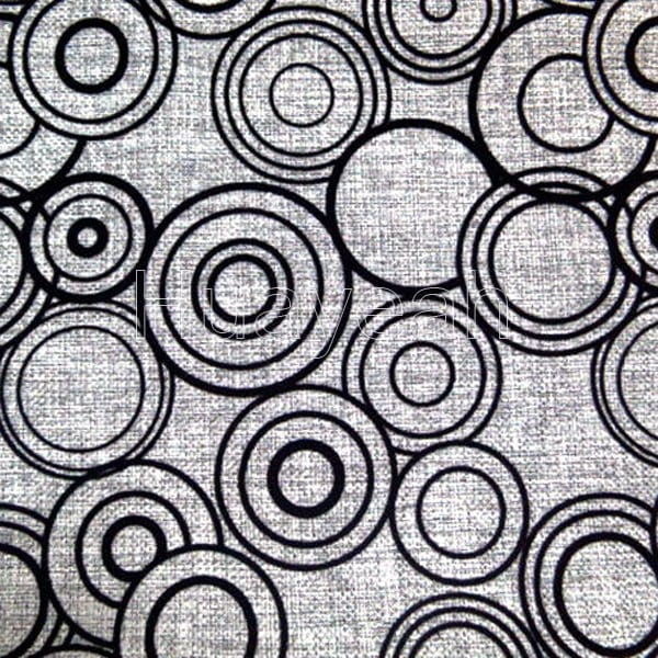 Circle pattern upholstery fabric shops for Fabric retailers