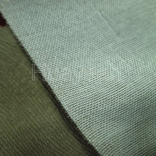 Woven Upholstery Fabric Backside
