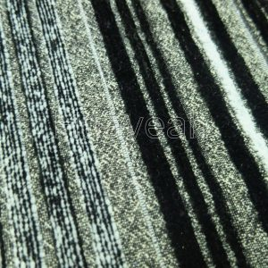polyester woven fabric close look
