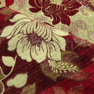 tweed upholstery fabric backside