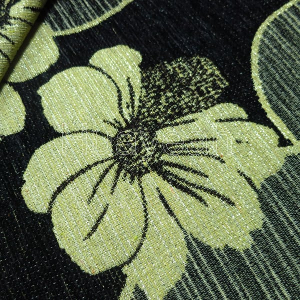 Chenille Jacquard Upholstery Fabric Houston