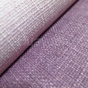 washed linen fabric close look