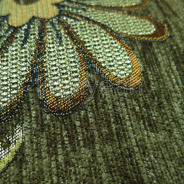 furniture upholstery fabric close look