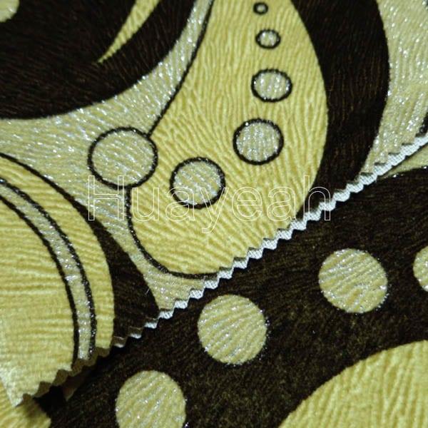 Flocked Sofa Cover Fabric Close Look2