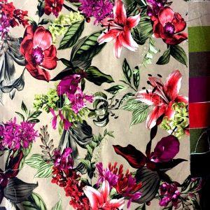 heavy curtain velvet fabric