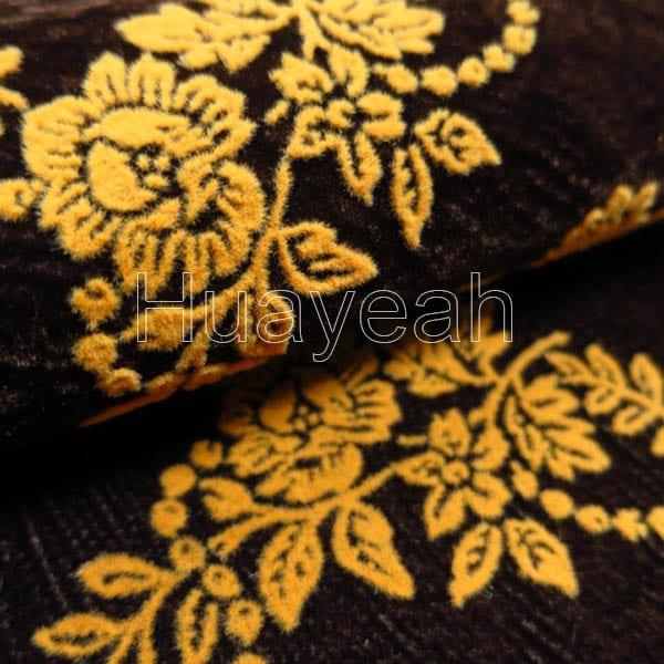 Sofa Flocking Fabric Close Look1