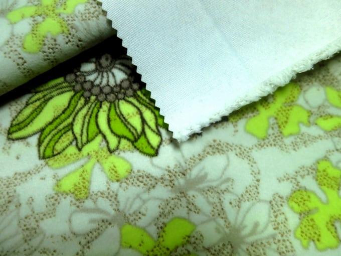 Velvet Fabric Backside