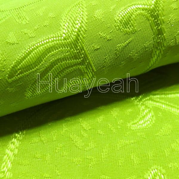 green jacquard buy curtain fabric