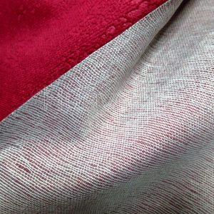 polyester microfiber fabric backside