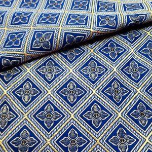 jacquard fabric close look