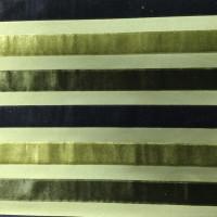 stripe velvet color green
