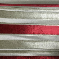stripe velvet color wine