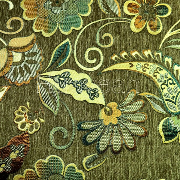 Vintage design chenille jacquard fabric for Jacquard fabric