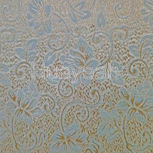Indian jacquard curtain fabric close look