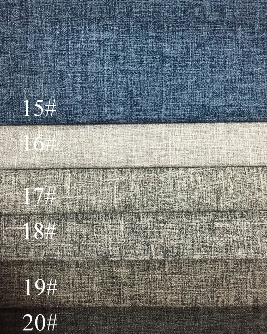 Polyester Linen Like Fabric For Sofa Upholstery