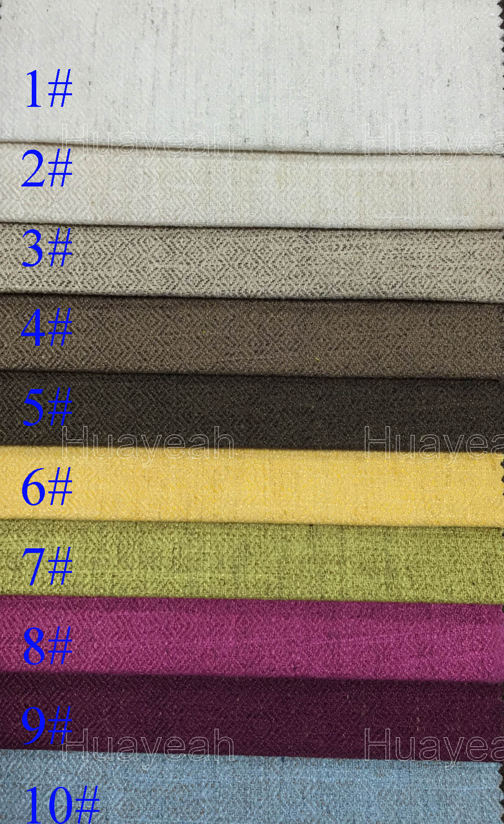 polyester linen look fabric for sofa upholstery