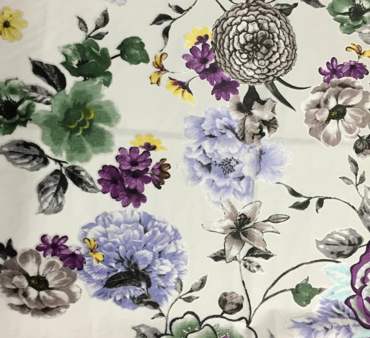 sofa fabric wholesale printed velvet fabric