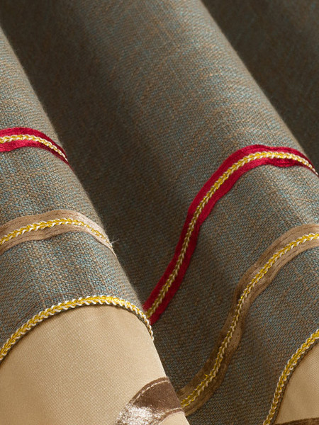 Polyester linen look curtain fabric suppliers for Fabric supply