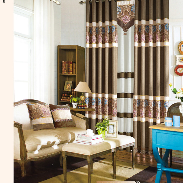 Light brown linen modern curtain fabric - Benefits of light colored upholstery and curtains ...
