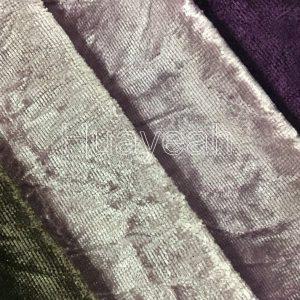 embossed velvet fabric close look