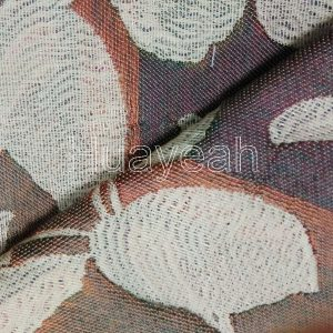 jacquard woven fabric for sofa cover back side