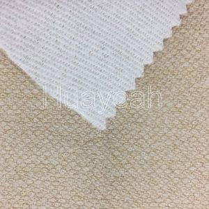 100 linen fabric back side