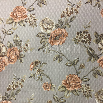 Diamond lattice pattern jacquard sofa fabric