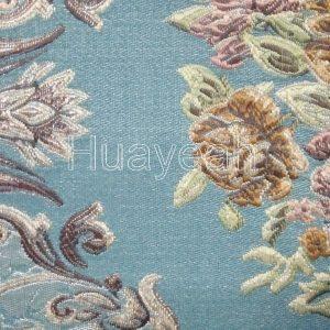 Polyester jacquard sofa fabric close look