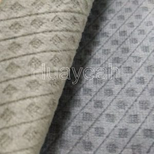 burnout velvet fabric for chair cover close look