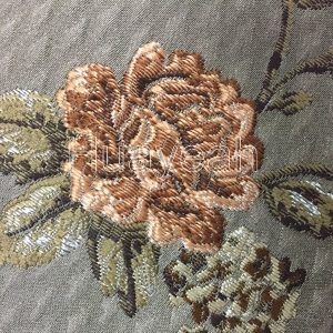 luxury jacquard fabric close side