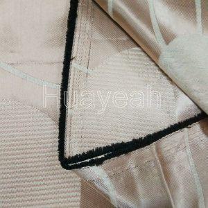 dubai blind curtain fabric wholesale back side