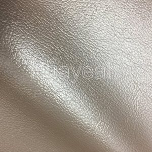 decorated pvc leather close side