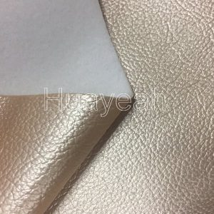 pvc leather back side