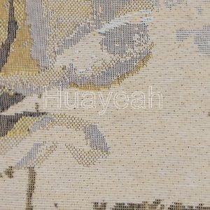 tapestry wall hanging fabric close look