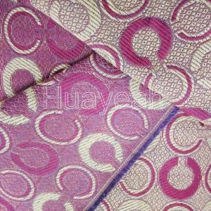 geometric design upholstery tapestry fabric back side