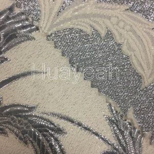 jacquard furnishing fabrics back side