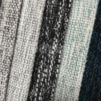 Plain linen look sofa fabric