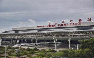 hongqiao train station