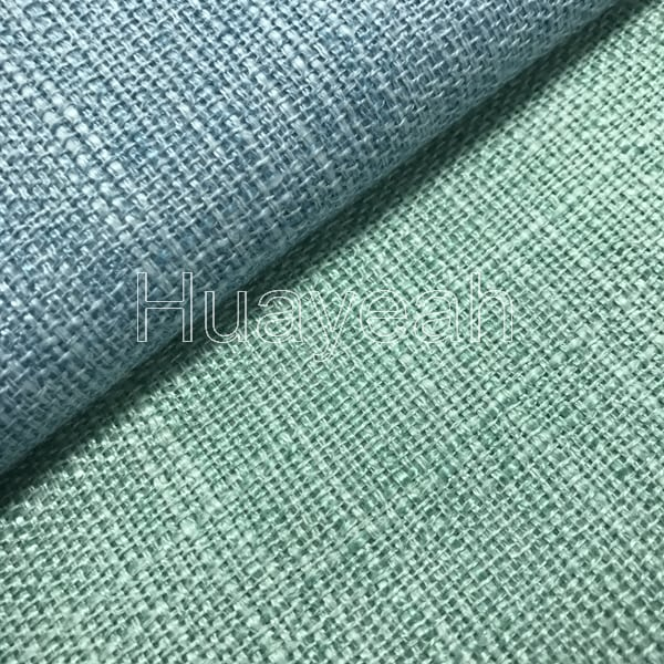 Polyester Sofa Upholstery Fabric Linen